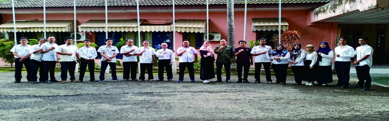Anggota KPU kabupaten Lahat beserta Sekertariat 2020