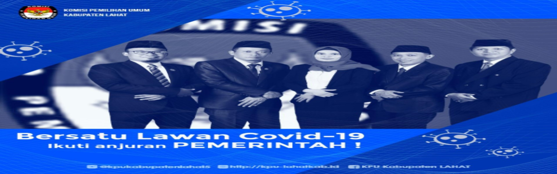 KPU Kab Lahat Bersatu Lawan COVID-19